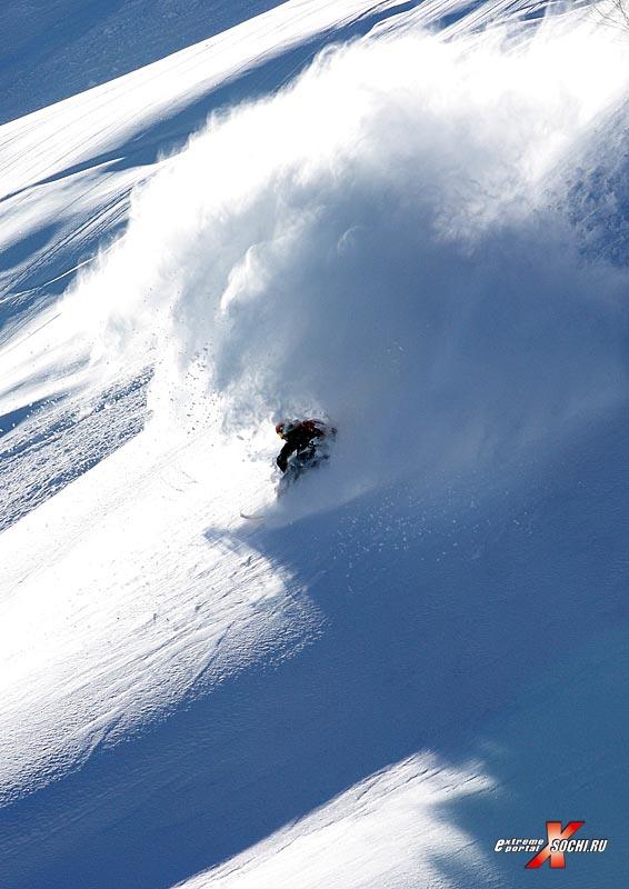 Горнолыжный спорт - катание на горных лыжах