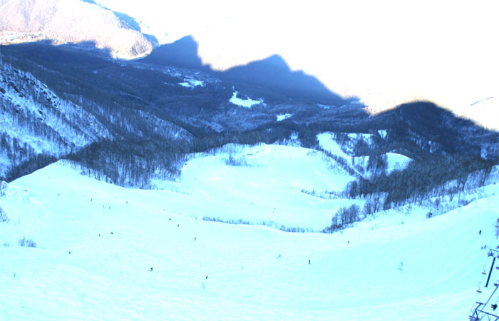 Катание на Альпике в январе