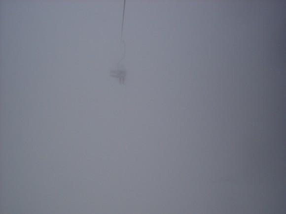 11.02.2009 13:41 Туман. Даже соседнее кресло с трудом просматривается
