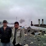 Олимпийский морской порт разрушен в Адлере