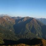 Горный массив Фишт, панорама