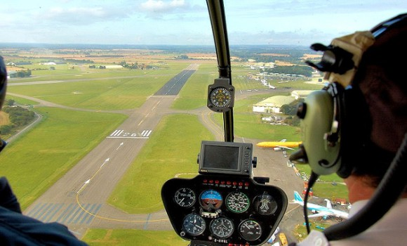 обучение пилотированию вертолёта