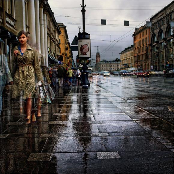 отправляясь в Петербург