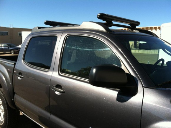 Багажник для перевозки лыж