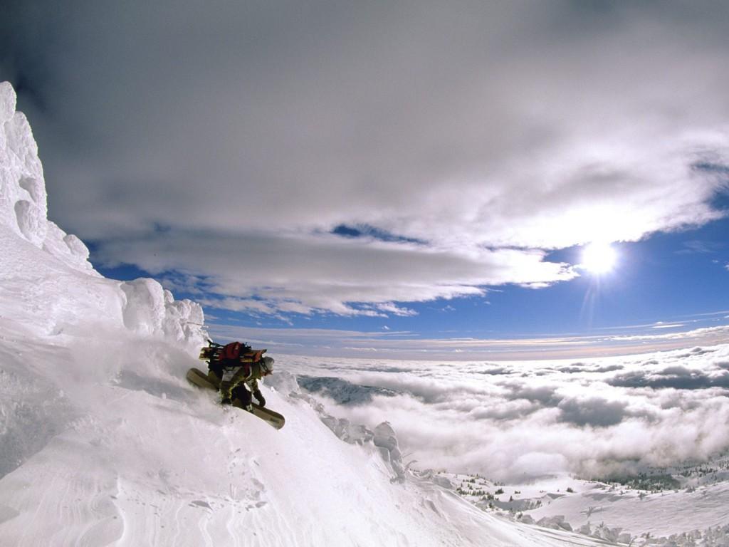Фрирайд над облаками
